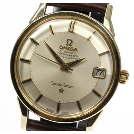 Omega Constellation Gold Plated / Stainless Steel Automatic Vintage 34mm Mens Watch