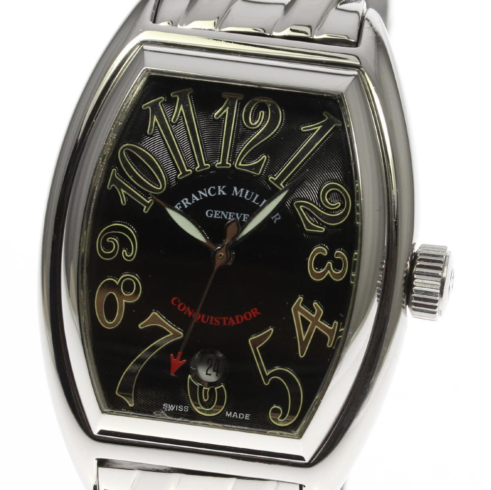 """""""""""Franck Muller Conquistador 8002Sc Stainless Steel Automatic Mens 35mm"""""""""""" 1974965"""