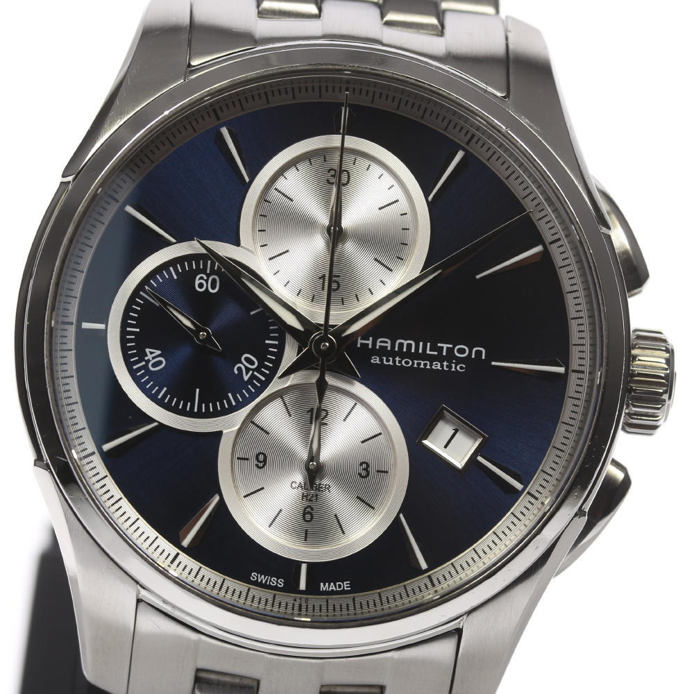"Image of ""Hamilton Jazzmaster H325960 Stainless Steel Automatic 42mm Mens Watch"""