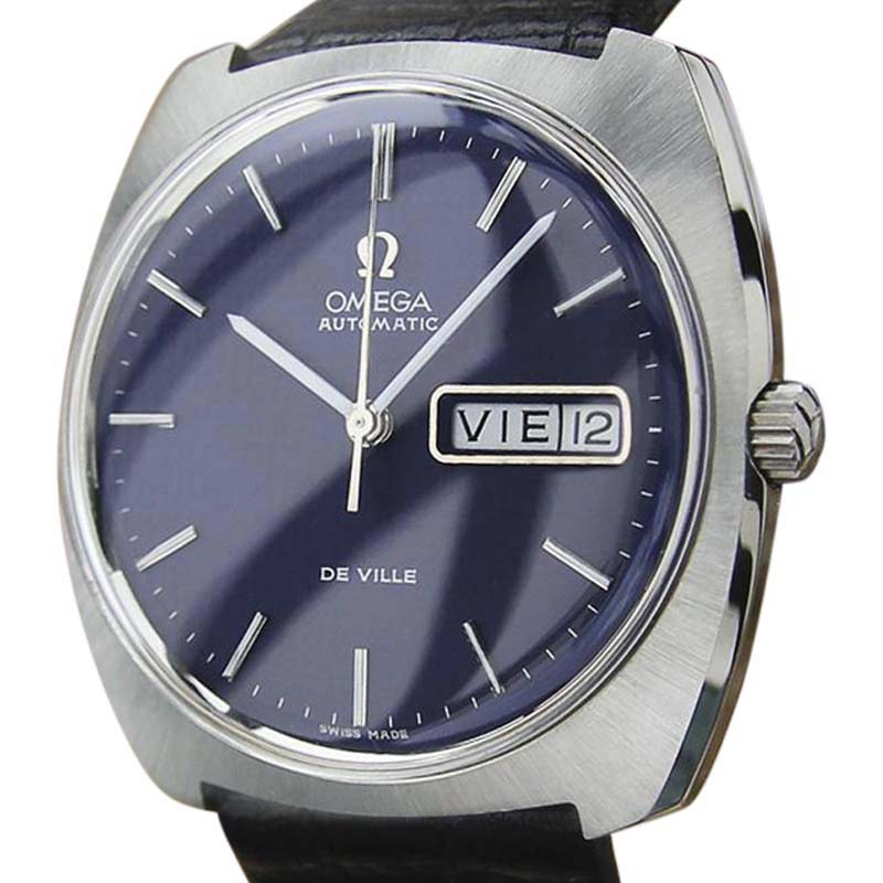 """Image of """"Omega DeVille Al33 Stainless Steel Automatic 35mm Vintage Mens Watch"""""""