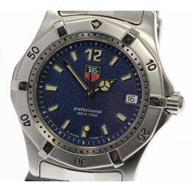 Tag Heuer Diving Watch WK1213 Stainless Steel Quartz 34mm Mens Watch