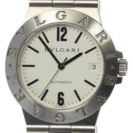 Bulgari Diagono Sports LCV35S Stainless Steel 35mm Automatic Mens Watch