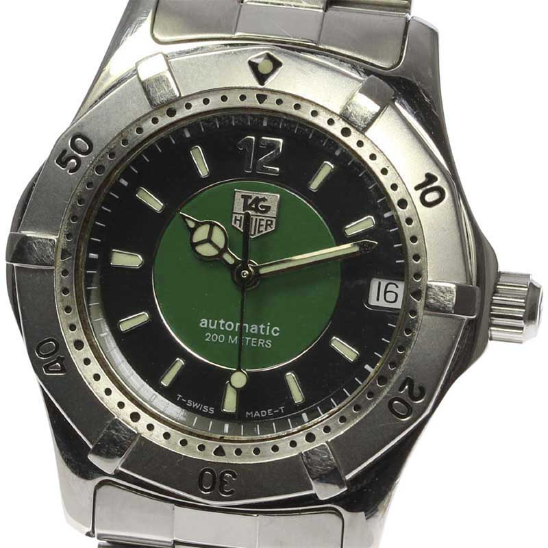 """Image of """"Tag Heuer Wk2215 Stainless Steel Automatic 35mm Mens Watch"""""""