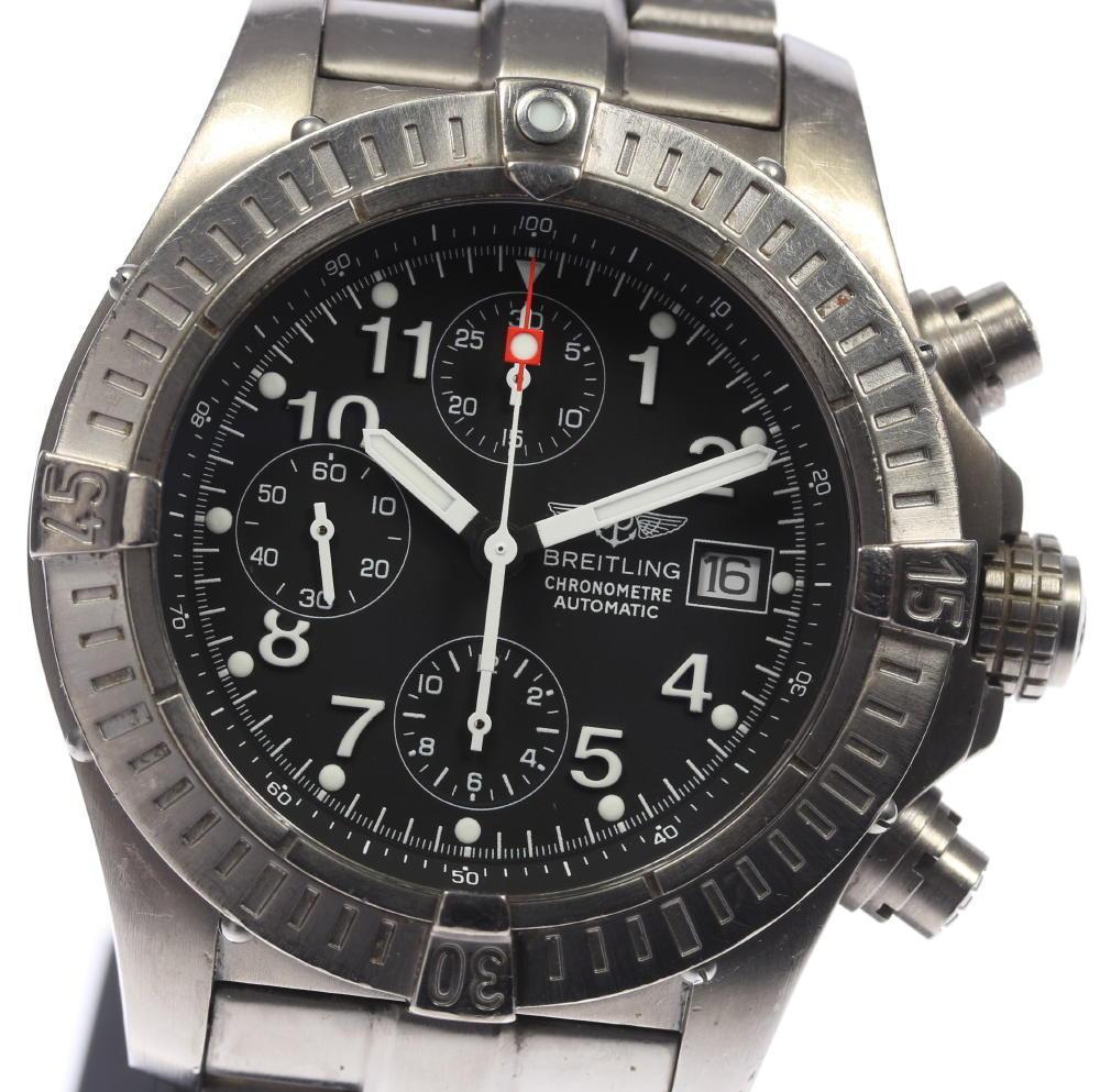 """""""""""Breitling Chrono Avenger E13360 Titanium Automatic 44mm Mens Watch"""""""""""" 2079027"""