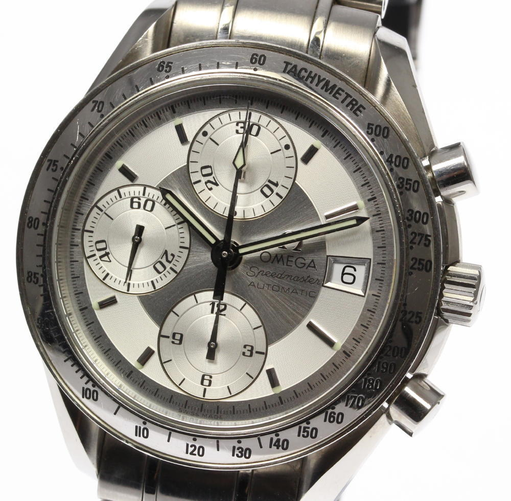 "Image of ""Omega Speedmaster Date 3513.30 Stainless Steel Automatic 39mm Mens"""