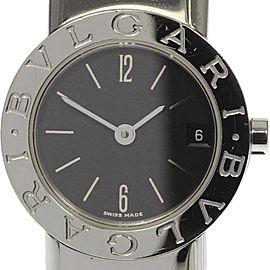 Bulgari Tubogas BB232TS Stainless Steel Quartz 23mm Womens Watch