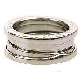 Bulgari B-zero1 Vintage 18K White Gold Ring Size 4.5