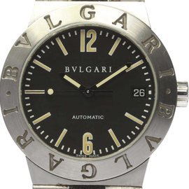 Bulgari Diagono Sports LC35S Stainless Steel Automatic 35mm Mens Watch