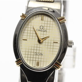 Omega Deville Stainless Steel / Gold Plated 18mm Mens Watch