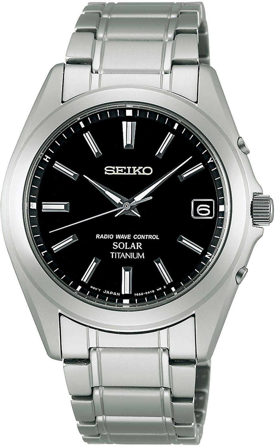 "Image of ""Seiko Selection Sbtm217 Titanium Sapphire Glass Solar Black 37.8mm"""
