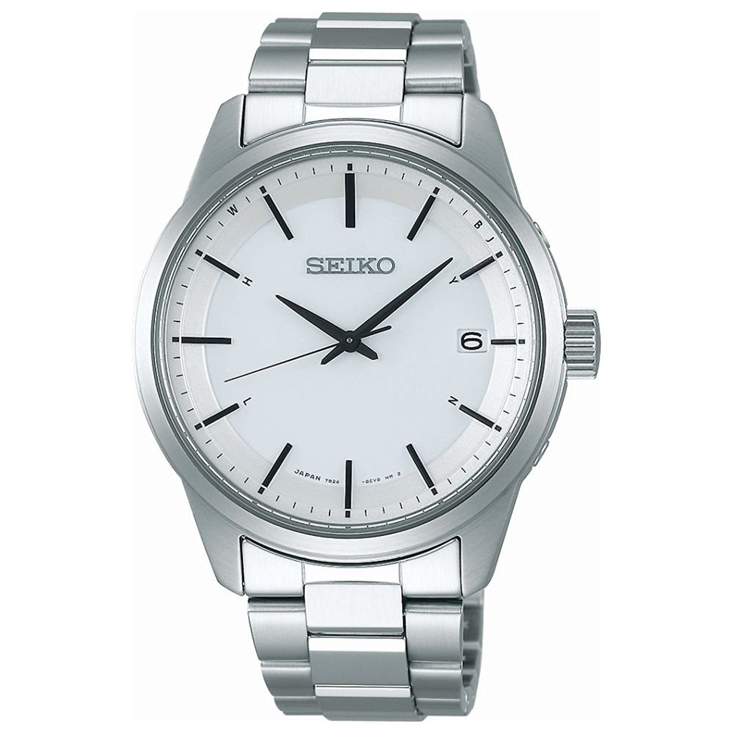 "Image of ""Seiko Selection Sbtm251 Stainless Steel Sapphire Glass Solar White"""