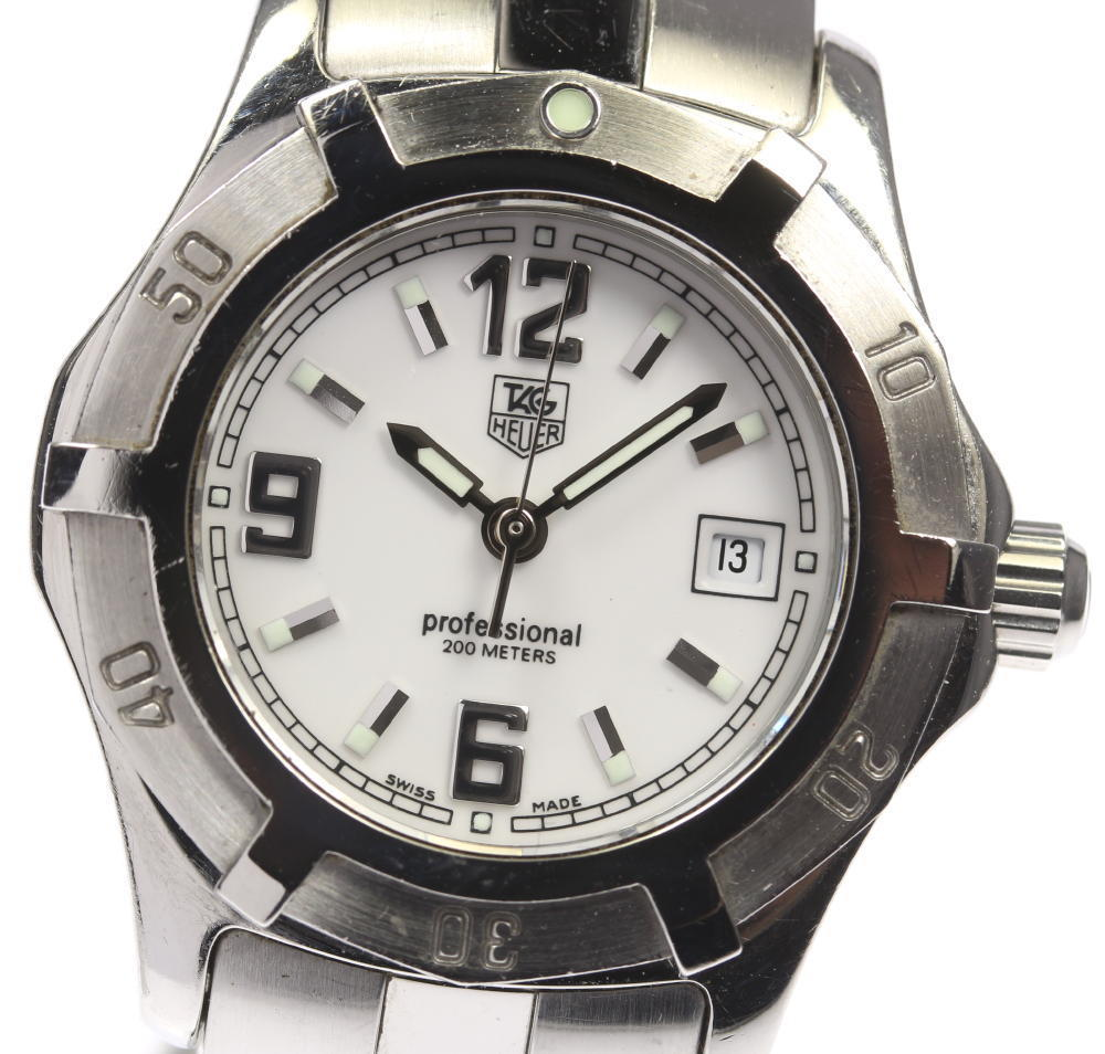 "Image of ""Tag Heuer Professional Wn1311 Stainless Steel Quartz 29mm Womens Watch"""