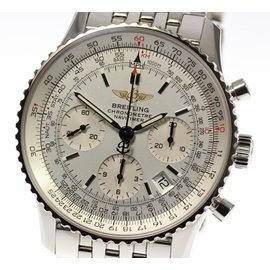 Breitling Navitimer A23322 Stainless Steel with Silver Dial Automatic 41mm Mens Watch