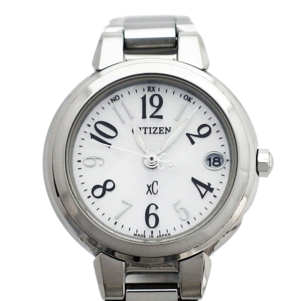 "Image of ""Citizen XC Es8030-58A Stainless Steel 24mm Womens Watch"""