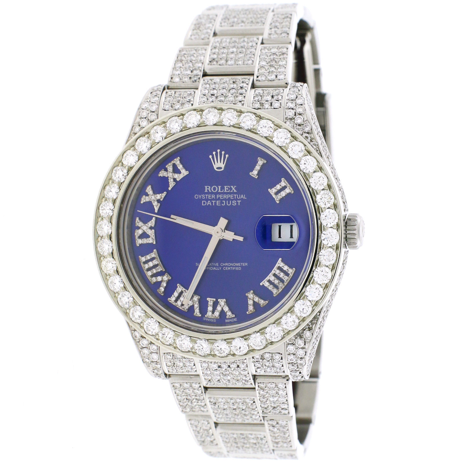 "Image of ""Rolex Datejust II 116300 Stainless Steel with 14.2ct Diamond Automatic"""