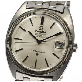 Omega Constellation Stainless Steel Automatic 34mm Mens Watch