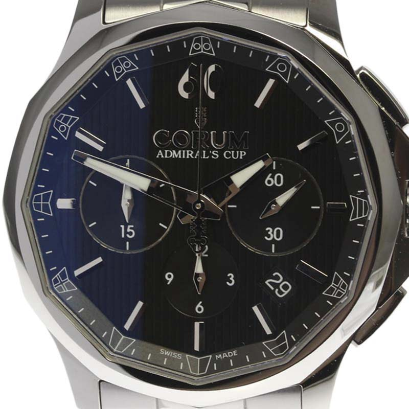 """""Corum Admirals Cup 42 984.101.20 / V705 An10 Stainless Steel Automatic"""""" 2322808"
