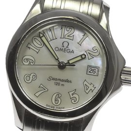Omega Seamaster 2581.70 Stainless Steel Quartz 27mm Womens Watch