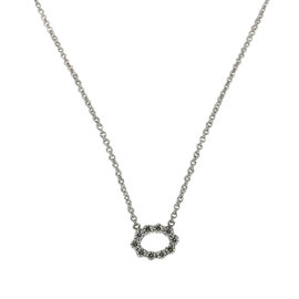 Hearts on Fire 18K White Gold Necklace