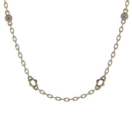 Judith Ripka Sterling Silver White Sapphire Necklace