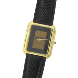 Corum Vintage 18k Solid Yellow Gold and Black Onyx Dial 32mm Watch
