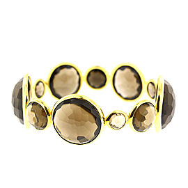 Ippolita Yellow Gold and Smokey Quartz