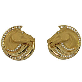 Carrera y Carrera Equestrian Themed Earrings