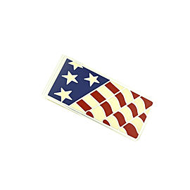 Tiffany & Co. Sterling Silver .925 American Flag Money Clip