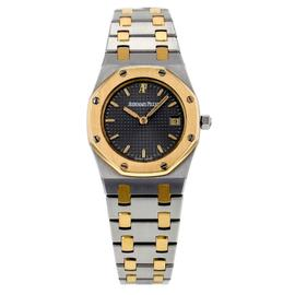 Audemars Piguet Royal Oak Lady Stainless Steel and 18K Yellow Gold Watch