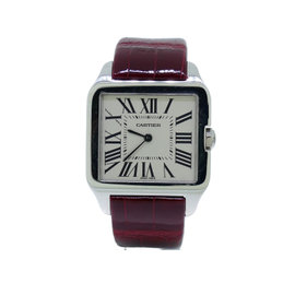 Cartier Santos Dumont Ref W2009451 18K White Gold Watch