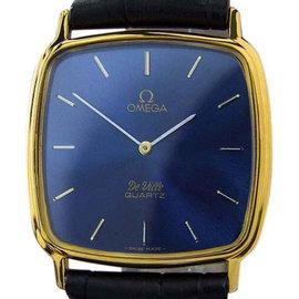Omega J708 Deville Swiss Made Precision Accuset Quartz Mens Watch