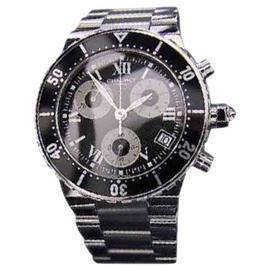 Chaumet 1004 Class One Swiss Luxury Chronograph Sports Mens Watch 41mm