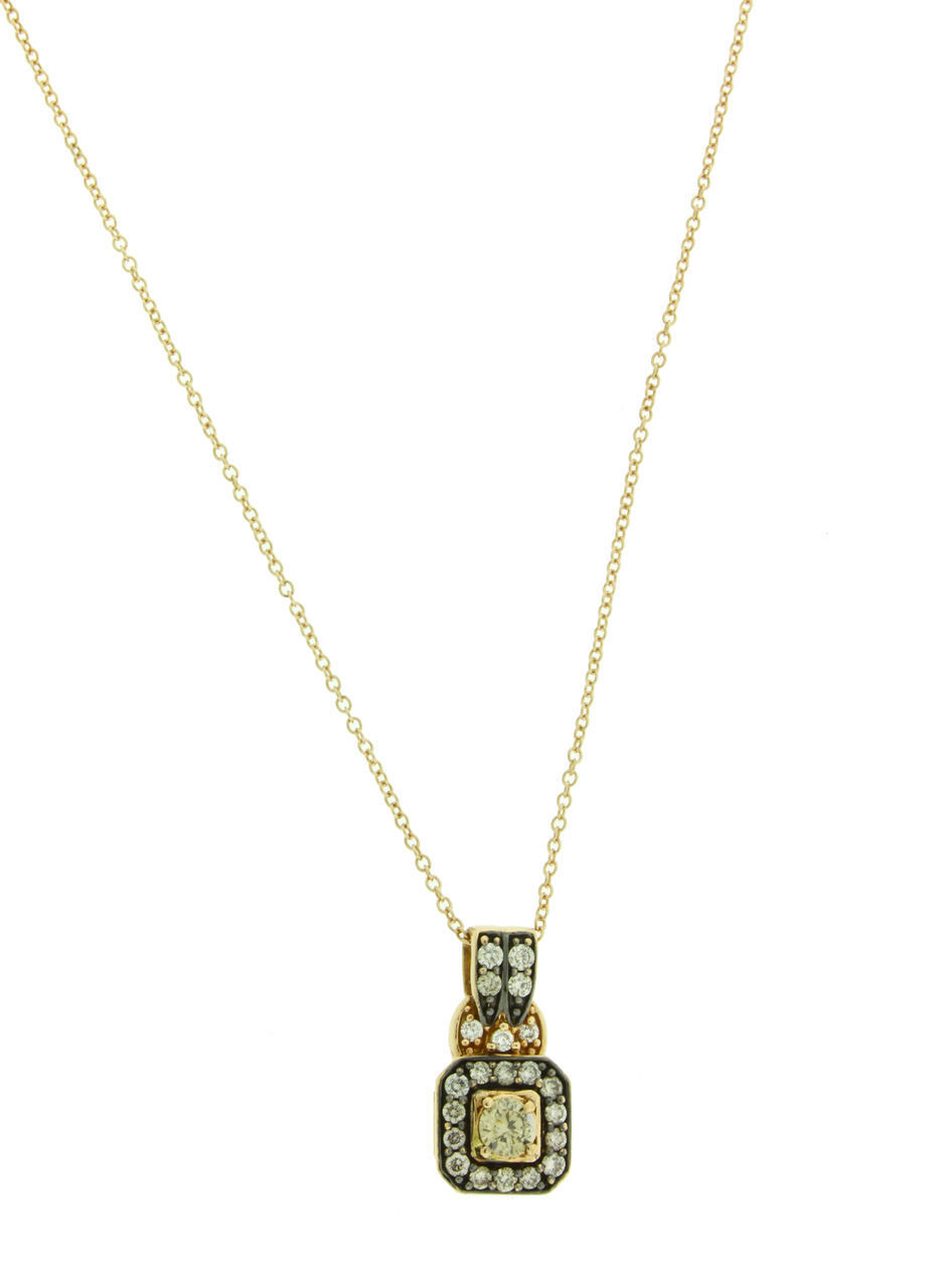 "Image of ""Levian 14K Rose Gold Chocolate Diamond Necklace"""
