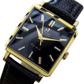 Omega Automatic Geneve Swiss Made Gold Filled Dress Vintage 1950s Watch