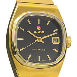 Rado Moncherie Swiss Made Automatic Gold Plated Dress Ladies 1960 Watch