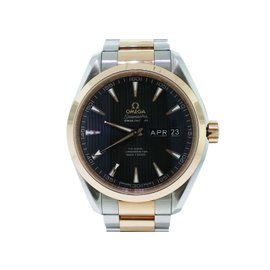 Omega Seamaster Aqua Terra 231.20.43.22.06.002 18k Rose Gold & Stainless Steel Annual Calendar 43mm Watch