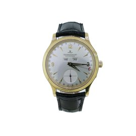 Jaeger LeCoultre Master 18K Yellow Gold Mens Watch