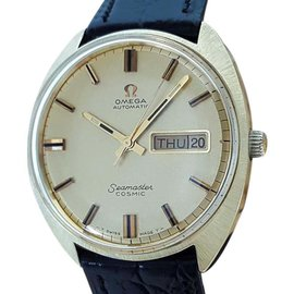 Omega Seamaster Gold Capped Swiss Automatic Vintage 1960s Mens Watch