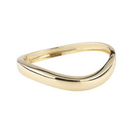 Chaumet Paris 18K Yellow Gold Hinged Bangle Bracelet