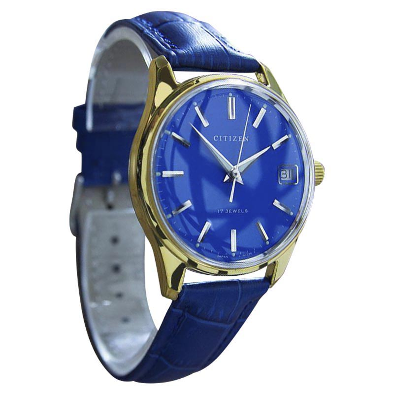 """Image of """"Citizen Parawater Stainless Steel & Gold Plated Manual Vintage Mens"""""""