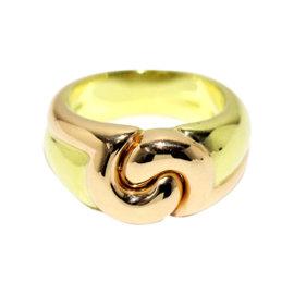 Bulgari 18K Yellow & Pink Gold Ring