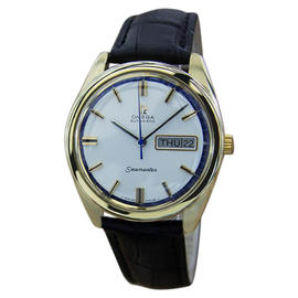 Omega Seamaster Swiss Made Automatic Gold Capped Mens Watch Year: 1960
