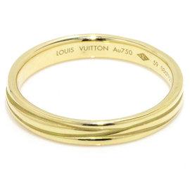 Louis Vuitton 18K Yellow Gold Alianza Epi Ring