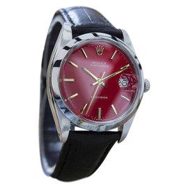 Rolex Oysterdate Precision 6694 Stainless Steel Vintage Mens Watch