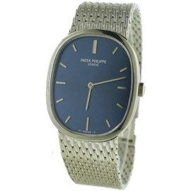 Patek Philippe Ellipse 3548 18K White Gold 27mm Watch