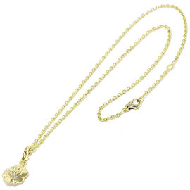 Chanel Camelia 18K Yellow Gold 750 Necklace