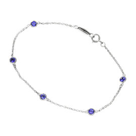 Tiffany & Co. 950 Platinum By The Yard Sapphire Bracelet