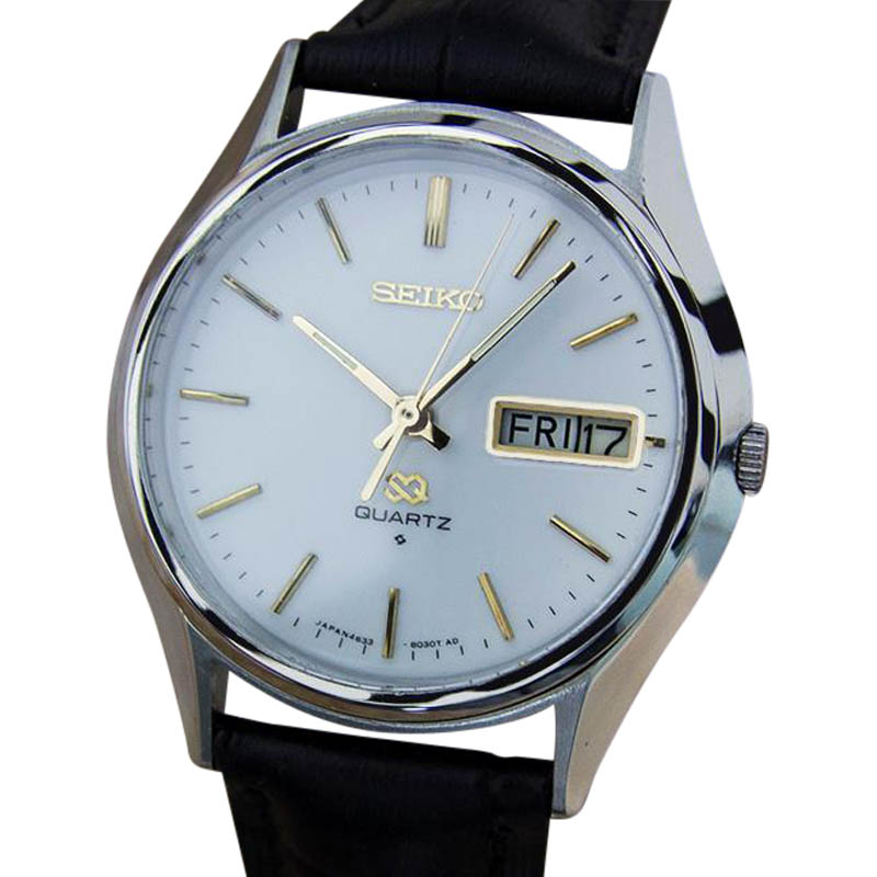 "Image of ""Seiko 4633 8029 Stainless Steel Quartz 36mm Mens Watch Year 1970"""