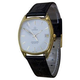 Omega Seamaster Gold Plated and Stainless Steel Vintage 33mm Mens Watch