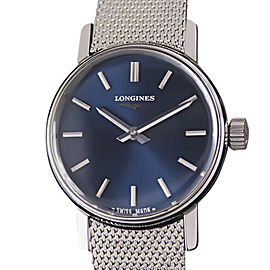 Longines Stainless Steel Manual 24mm Womens Watch Year 1980